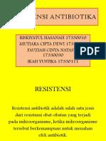 RESISTENSI ANTIBIOTIKA PPT