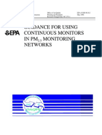 USEPA Continuous Monitoring
