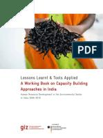 Capacity building report in India