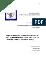 Efecto antiproliferativo e inhibidor del Interferon2.4