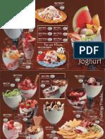 Eiskarten Standard Joghurt 1 KSTD 005