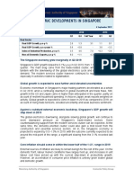 Recent Economic Developments in Singapore 06 Sep 2019