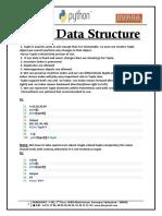 Tuple Data Structure