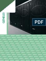 Genelec Pro Monitoring Catalogue