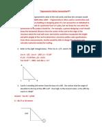 Sample Trigonometry Files