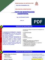 CLASE 6-PROYECTO DE INVESTIGACION CUANTITATIVA Y FORMULACION DE PROBLEMAS FIC-UNCP