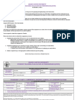 gcu student teaching evaluation of performance  28step 29 standard 1 2c part i - signed