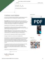 Hvac Formula_ Control Valve Sizing