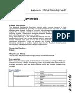 Navisworks Manage Syllabus