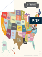 Mrprintables Printable Map Usa Color Ltr