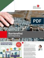 Ratgeber Barrierefrei durch Regensburg