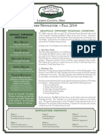 Township Newsletter Fall - 2014