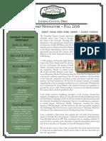 Township Newsletter Fall 2016