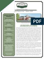 Township Newsletter Spring 2019