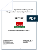 vinods' report on amul