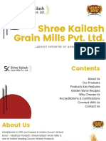 Shree Kailash Grain Mills Pvt. Ltd. New PDF
