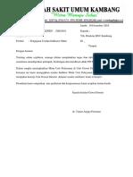 Surat undangan PMKP