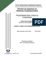 Reporte Analizar la estructura del lenguaje logico PROLOG