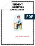 PROJECT FILE EXAM MANAGEMENT CLASS XIITH CS