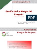 Tema 07- Gestión de Los Riesgos Del Proyecto- Control