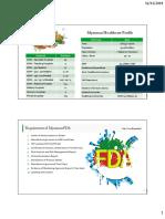 Myanmar Profile & FDA
