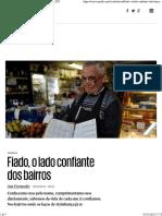 Crónica_ Fiado, o Lado Confiante Dos Bairros - PÚBLICO