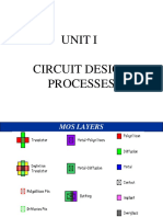 Stick Diagram and Layout