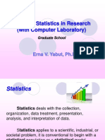 Statistics in Research .ppt