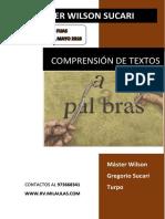 COMPRENSIÓN DE Textos Sucari