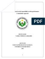 The effects of corporate social responsibility on firm performance