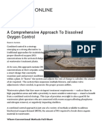 A Comprehensive Approach to Dissolved Oxygen Control