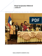 Indonesia perkuat kerjasama bilateral antar negara ASEAN