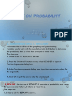 More on Probability