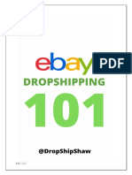 Ebay dropshipping 101