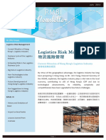 Logistic Management in Hong Kong