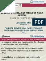 Apresentação Jerson Lima Silva - FAPERJ
