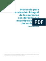 Protocolo ILE actualizado - Ministerio de Salud (Ginés González García)