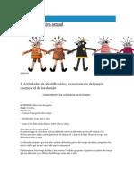actividades para preescolar sobre cuerpo humano y diferencias