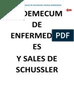 Sales de Schussler usos