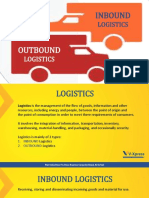 Inbound Outbound Logistics