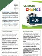 Climate Change Brochure