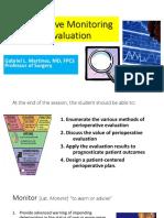 Perioperative Evaluation