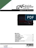 Yamaha emx860st