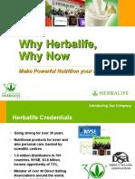 Why Herbalife Why Now - November