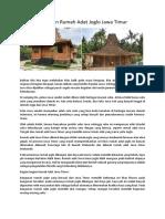 Keunikan Rumah Adat Honai Papua