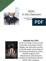 L1 - Rizal Law