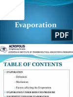 6. Evaporation