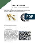 Metal Report