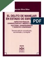 El Delito de Manejar en Estado de Ebriedad - Hernan Silva