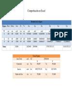 Comprobación en Excel